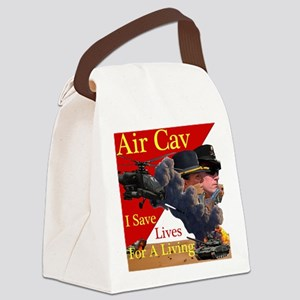 Air Cav Saves Lives Canvas Lunch Bag