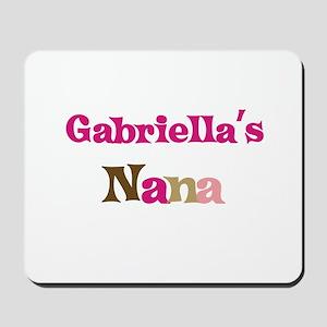 Gabriella's Nana Mousepad