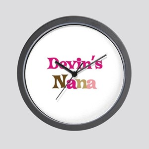 Devin's Nana Wall Clock