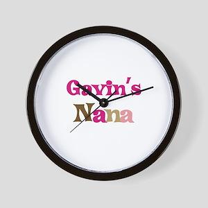 Gavin's Nana Wall Clock