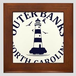 Summer outer banks- North Carolina Framed Tile
