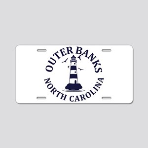 Summer outer banks- North C Aluminum License Plate
