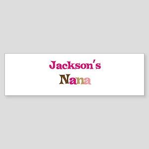 Jackson's Nana Bumper Sticker