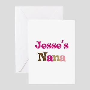 Jesse's Nana Greeting Card