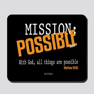Mission Possible Mousepad