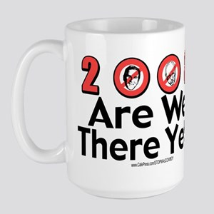 2008 Are We There Yet? Large Mug