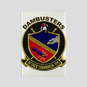 VA 195 Dambusters Rectangle Magnet