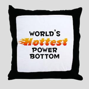 World's Hottest Power.. (B) Throw Pillow
