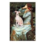 Ophelia / Italian Greyhound Postcards (Package of