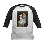 Ophelia / Italian Greyhound Kids Baseball Jersey