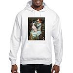Ophelia / Italian Greyhound Hooded Sweatshirt