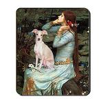 Ophelia / Italian Greyhound Mousepad