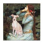 Ophelia / Italian Greyhound Tile Coaster