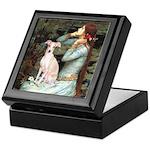 Ophelia / Italian Greyhound Keepsake Box