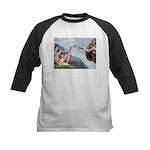 Creation / Ital Greyhound Kids Baseball Jersey