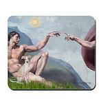 Creation / Ital Greyhound Mousepad