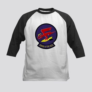 389th Fighter Squadron  Kids Baseball Jersey