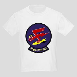 389th Fighter Squadron  Kids Light T-Shirt