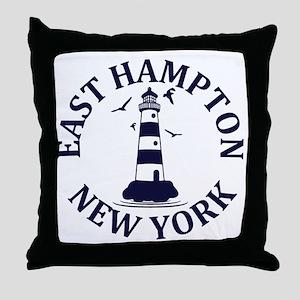 Summer East Hampton- New York Throw Pillow