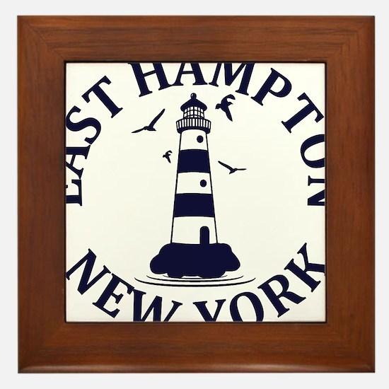 Summer East Hampton- New York Framed Tile