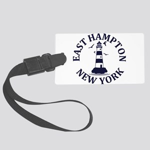 Summer East Hampton- New York Large Luggage Tag