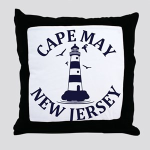 Summer cape may- new jersey Throw Pillow