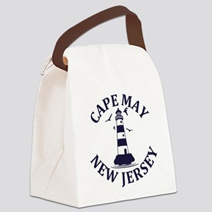 Summer cape may- new jersey Canvas Lunch Bag