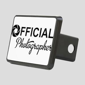 photographer Rectangular Hitch Cover