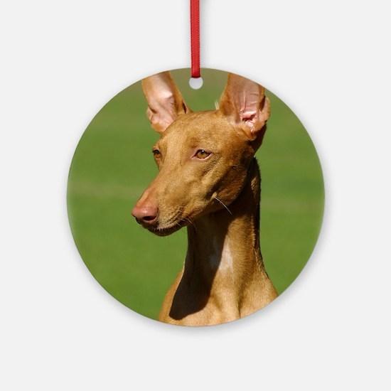 Pharaoh Hound Ornament (Round)