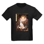 Queen / Italian Greyhound Kids Dark T-Shirt