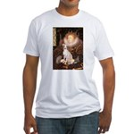 Queen / Italian Greyhound Fitted T-Shirt