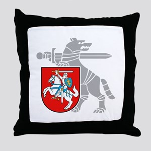 LT Defense Ministry Vytis Throw Pillow