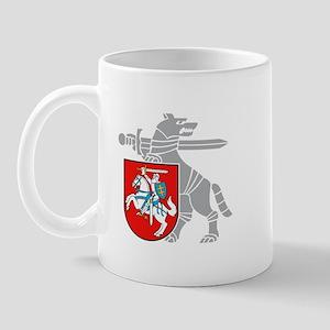 LT Defense Ministry Vytis Mug