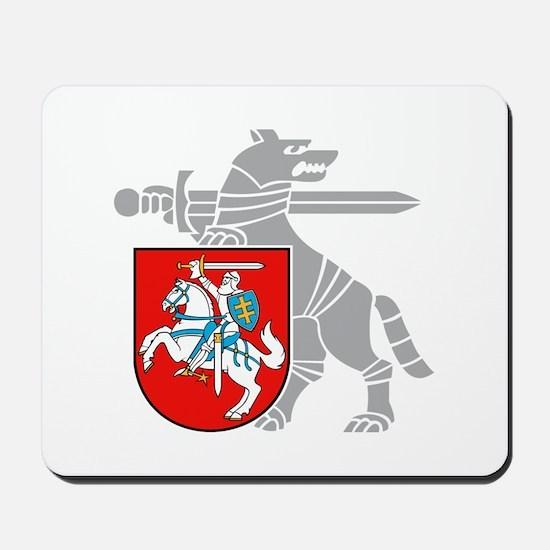 LT Defense Ministry Vytis Mousepad