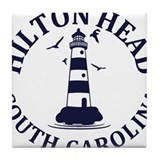 Hilton head Tile Coasters
