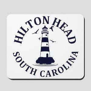 Summer hilton head- south carolina Mousepad