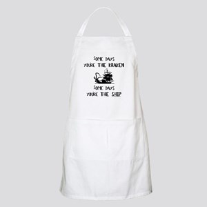 Some days the kraken, some days the ship BBQ Apron
