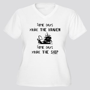 Some days the kraken, some days the ship Women's P