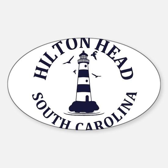Summer hilton head- south carolina Decal