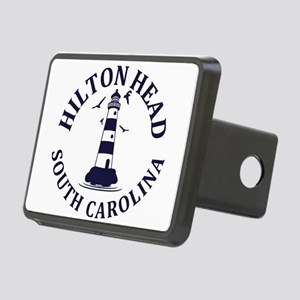 Summer hilton head- south Rectangular Hitch Cover