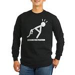 Assume the Position Long Sleeve Dark T-Shirt