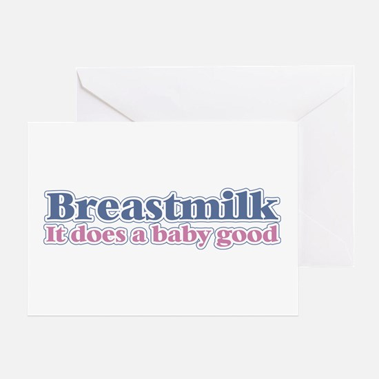 Breastmilk Greeting Card