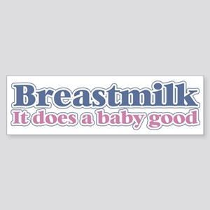 Breastmilk Bumper Sticker