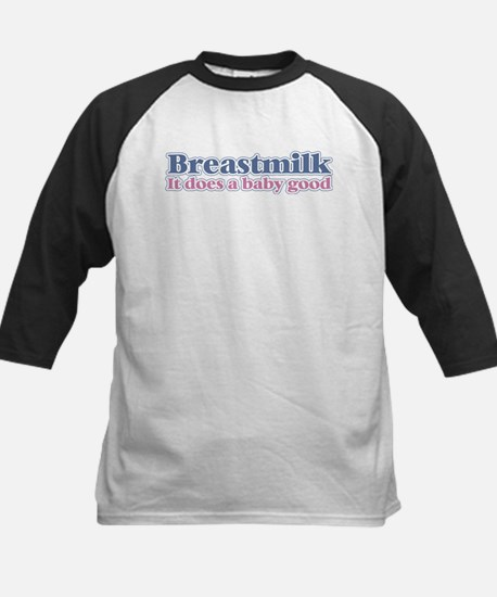 Breastmilk Kids Baseball Jersey
