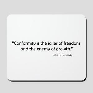 Conformity Mousepad