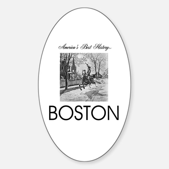 ABH Boston Sticker (Oval)