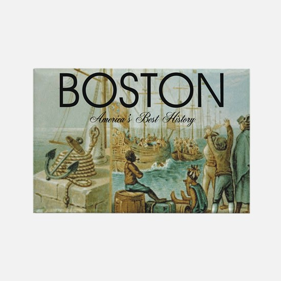 ABH Boston Rectangle Magnet