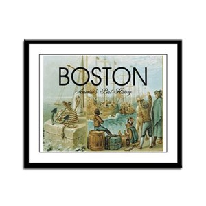 ABH Boston Framed Panel Print