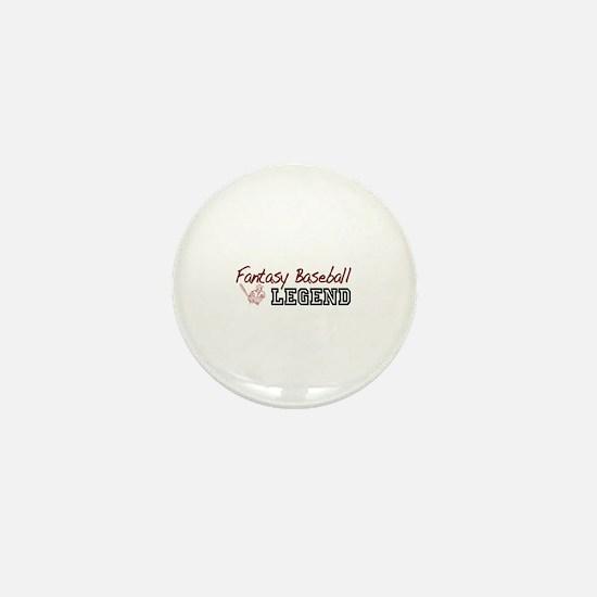 Fantasy Baseball Legend Mini Button