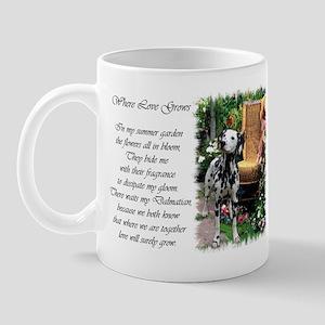 Dalmatian Art Mug